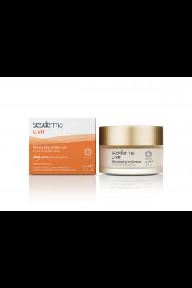 Sesderma C-VIT Moisturizing Facial Cream, Nawilżający krem do twarzy 50 ml