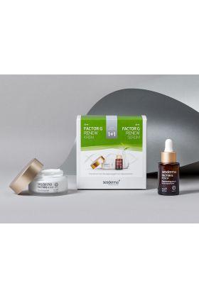 Sesderma Factor G Cream + Serum. ZESTAW Regenerujący krem przeciwstarzeniowy 50 ml + Serum z pęcherzykami lipidowymi 30 ml