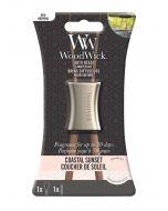 WoodWick COASTAL SUNSET Pałeczki zapachowe- baza z pałeczkami